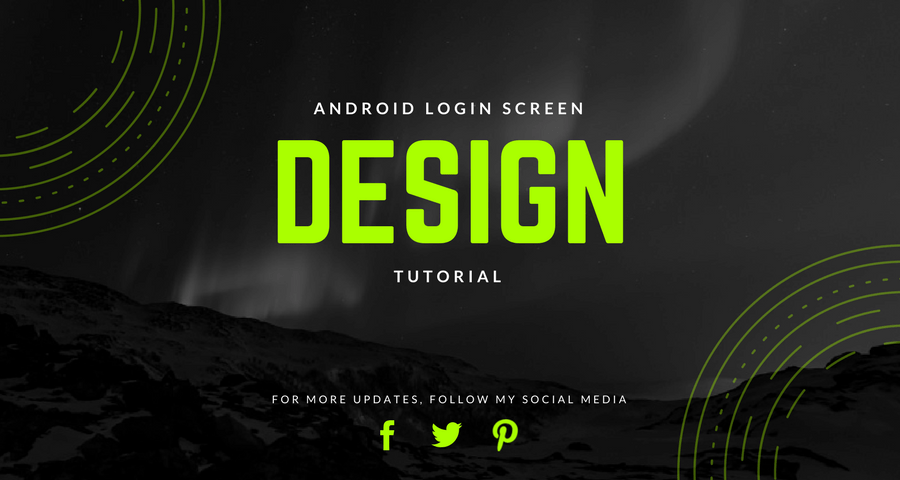 Android Login Screen Design