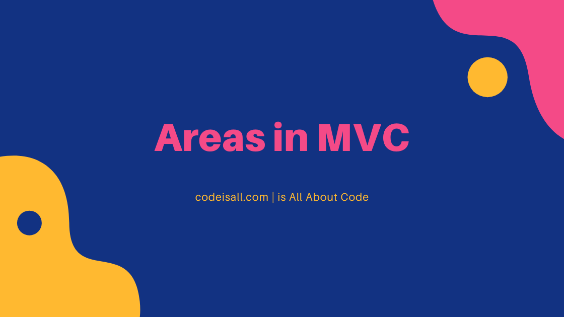 Areas In MVC