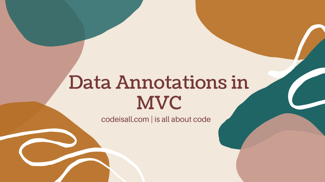 Data Annotations MVC